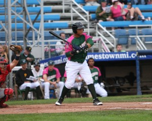 Harold Ramirez is hitting .311 in Winter ball (Photo Credit: David Hague)