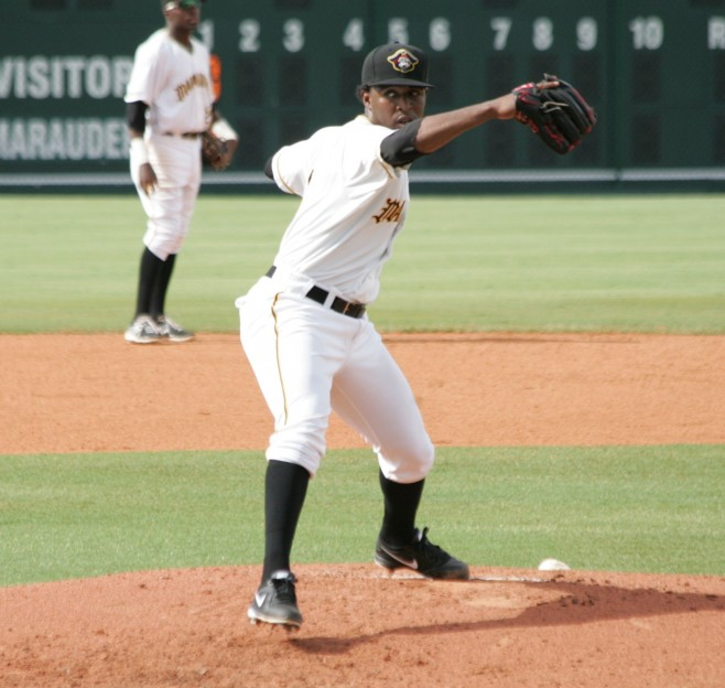 Joely Rodriguez will make his first start tonight
