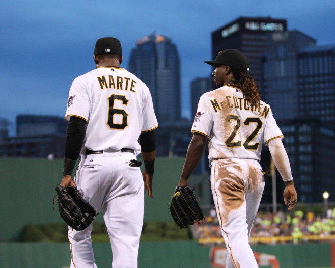 McCutchen and Marte