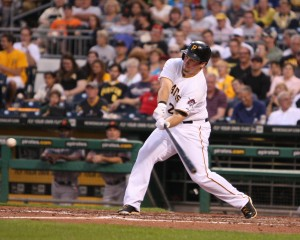 Travis Snider has been placed on the DL. (Photo Credit: David Hague)