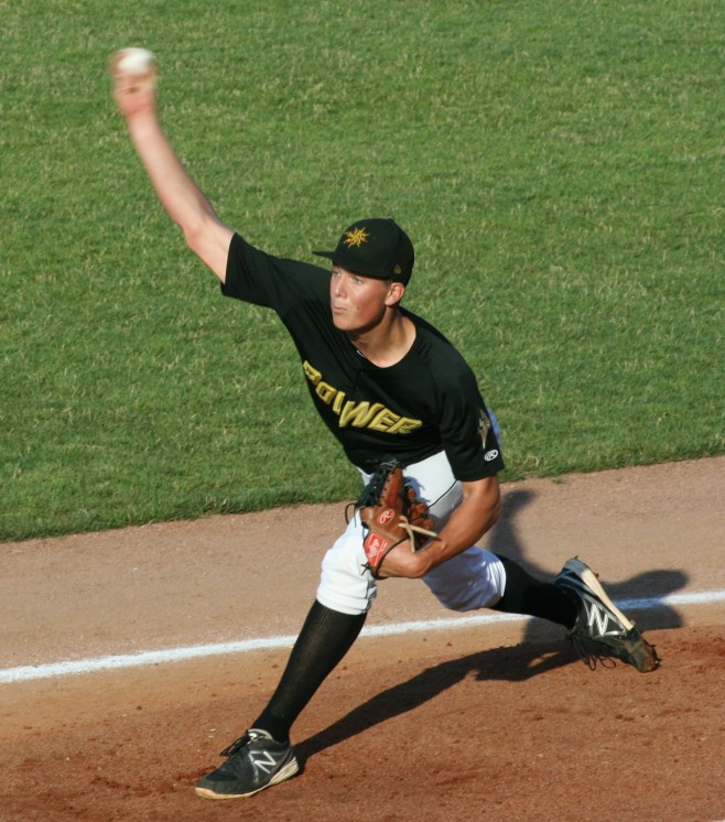 Tyler Glasnow struck out 36% of the batters he faced in 2013. (Photo Credit: Tom Bragg)