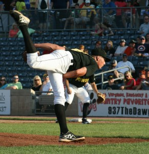 Tyler Glasnow threw six shutout innings. (Photo Credit: Tom Bragg)
