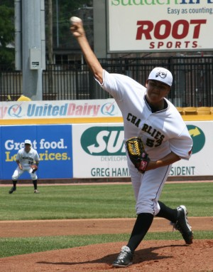 Heredia has struggled against Hickory this year(Photo Credit: Nick Scala)