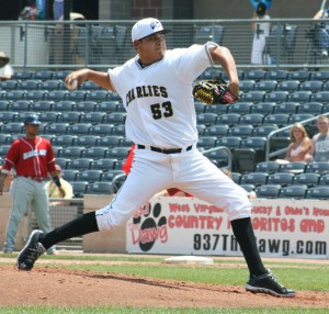 Luis Heredia will pitch winter ball in Mexico this year. (Photo Credit: Nick Scala)