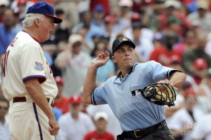 Has there ever been an umpire who needed Tommy John surgery?