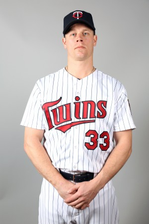 Justin Morneau is starting at first base today, and batting sixth.