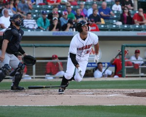 Andrew Lambo could be an option for the Pirates at first base in 2014. (Photo Credit: David Hague)