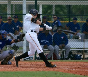 Austin Meadows is Baseball America's top prospect in the 2013 Gulf Coast League.