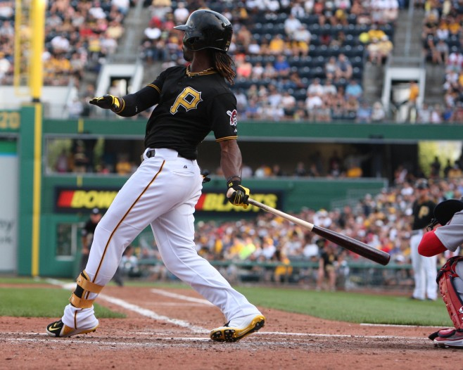 Andrew McCutchen won his second Silver Slugger award. (Photo Credit: David Hague)