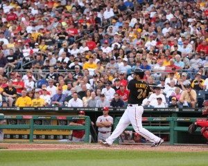 Pedro Alvarez went 2-for-4 with a key two run homer today. (Photo Credit: David Hague)