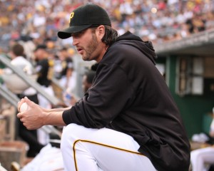 Jason Grilli will make a rehab outing with Altoona Saturday, and may re-join the Pirates next week. (Photo Credit: David Hague)