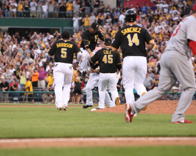 The Pirates have clinched the playoffs. (Photo Credit: David Hague)