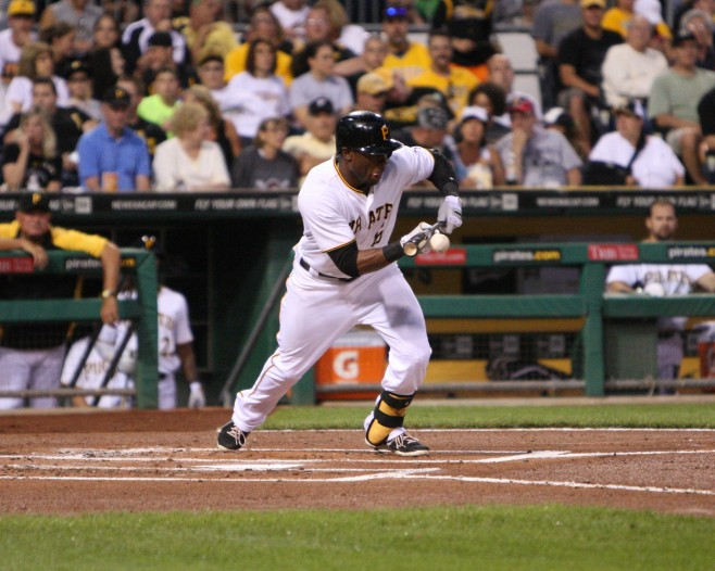 The Pirates need to stop bunting away outs. (Photo Credit: David Hague)