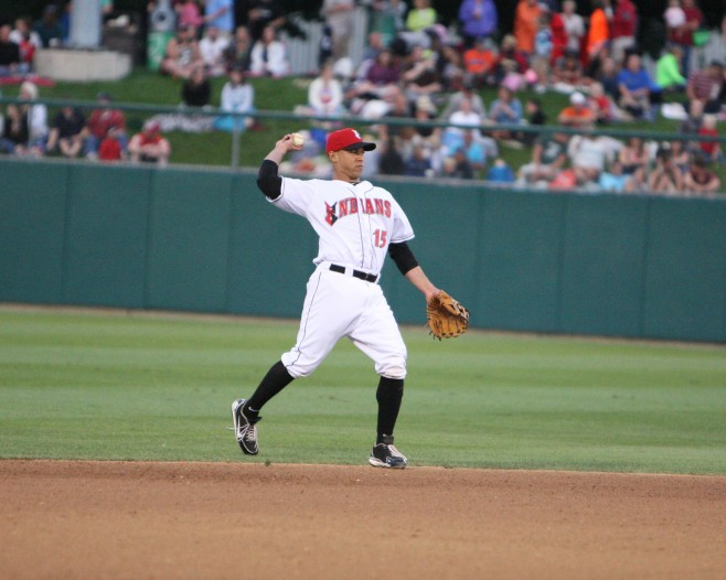 Ivan De Jesus is a minor league free agent. (Photo Credit: David Hague)