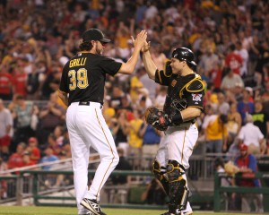Pirates fans may see Jason Grilli back in the Shark Tank next weekend. (Photo Credit: David Hague)