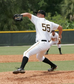 Jon Sandfort has thrown shutout ball in three of his four outings