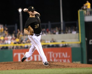 The Pirates have been overwhelmed by trade interest in Justin Wilson. (Photo Credit: David Hague)