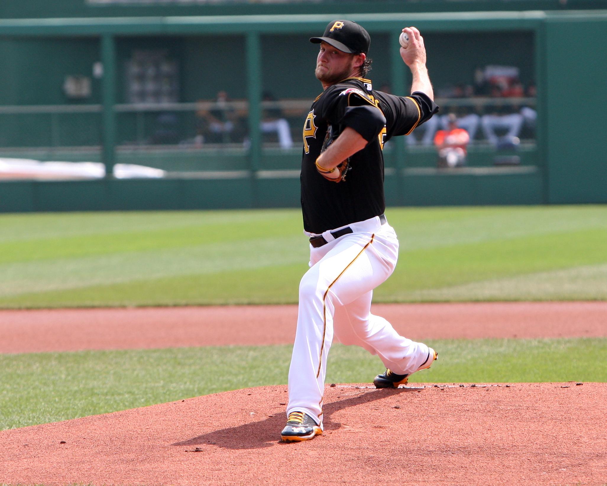 Gerrit Cole Pittsburgh Pirates