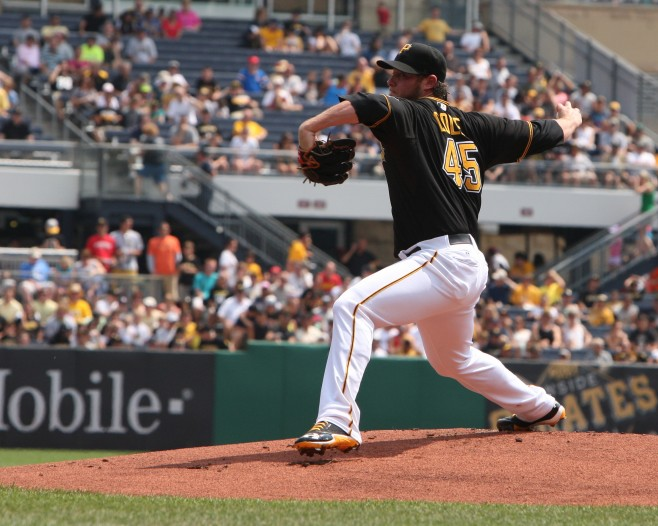 Gerrit Cole Pittsburgh Pirates