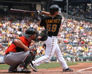 Tony Sanchez Pittsburgh Pirates