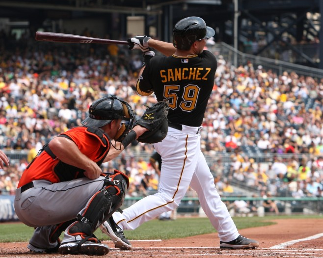 Tony Sanchez Pittsburgh Pirates