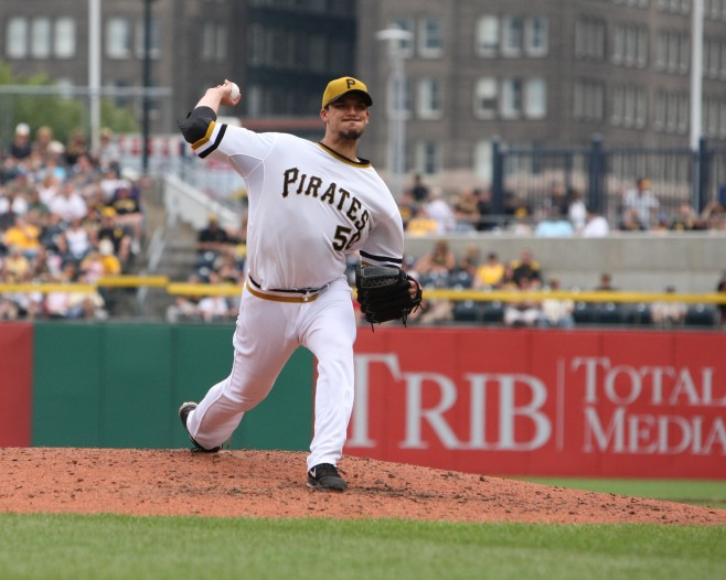 The Pirates had the second best xFIP in the second half, in large part because Charlie Morton (pictured) and Gerrit Cole joined Francisco Liriano and A.J. Burnett with top of the rotation numbers. (Photo Credit: David Hague)