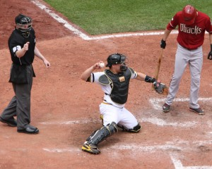Russell Martin was one of the best defensive catchers in the game last year. (Photo Credit: David Hague)