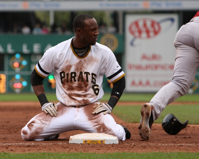 Marte was shut down by the Pirates this weekend (Photo Credit: David Hague)