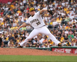 The Pirates refusing to pay for relievers led to the great trade of Joel Hanrahan for Mark Melancon over the off-season. (Photo Credit: David Hague)