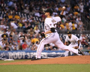 Charlie Morton earned a Game Score of 80 for his start Wednesday, classifying it as a gem. (Photo Credit: David Hague)