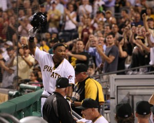 Marlon Byrd coming back on a multi-year deal wouldn't be bad, as long as the Pirates cleared space for Gregory Polanco after the 2014 season. (Photo Credit: David Hague)
