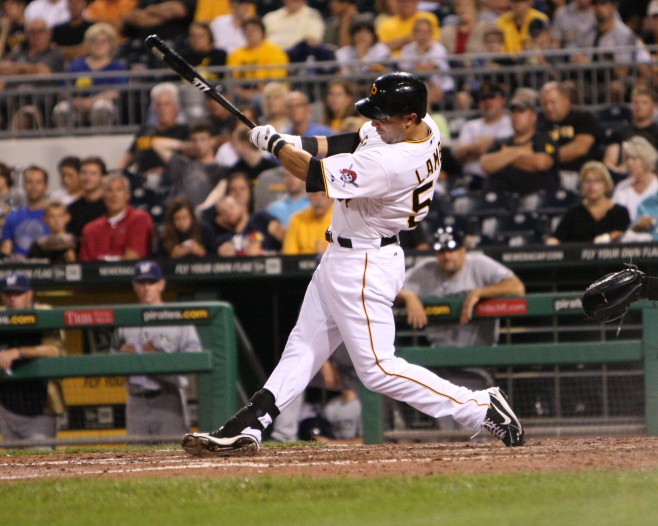 The Pirates have named Andrew Lambo the Minor League Player of the Year. (Photo Credit: David Hague)