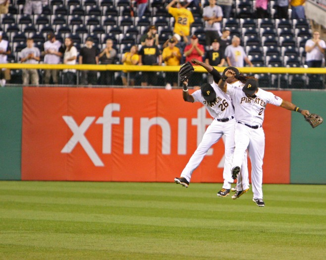 Pirates outfield