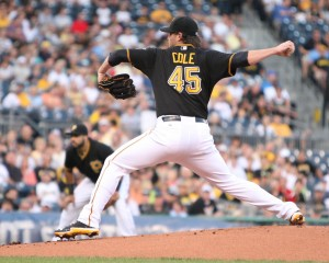 Gerrit Cole looked like an ace by the end of his rookie season. (Photo Credit: David Hague)