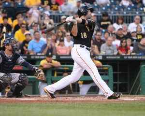 Neil Walker is one of several hitters getting hot at the right time. (Photo Credit: David Hague)