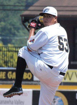 Heredia has gone six innings in each of his last three starts (Photo Credit: Robin Black)