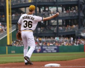 Justin Morneau Pittsburgh Pirates