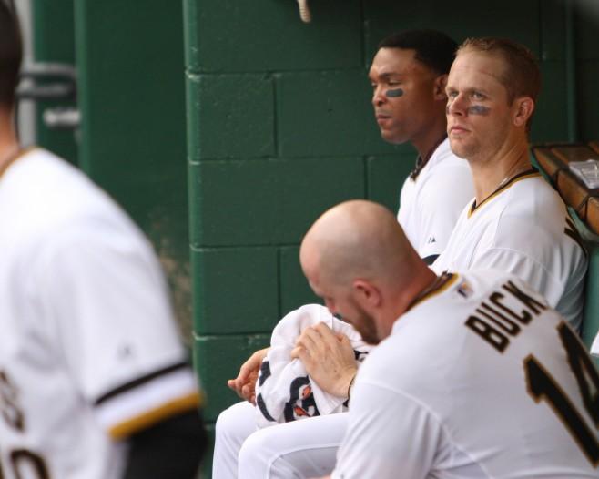 Justin Morneau, John Buck, Marlon Byrd Pittsburgh Pirates