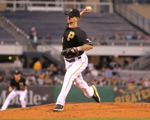 The A.J. Burnett situation hasn't changed much. (Photo Credit: David Hague)