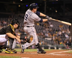 Jedd Gyorko's three-run home run in the third inning was the deciding blow in the Pirates' 5-2 loss Tuesday. (Photo Credit: David Hague)