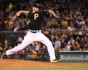A.J. Burnett has had one bad inning in the majority of his starts in the last two months. (Photo Credit: David Hague)