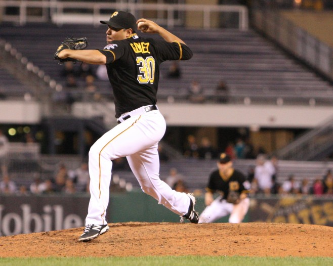 Jeanmar Gomez pitched well in a lot of roles for the Pirates last year. (Photo Credit: David Hague)