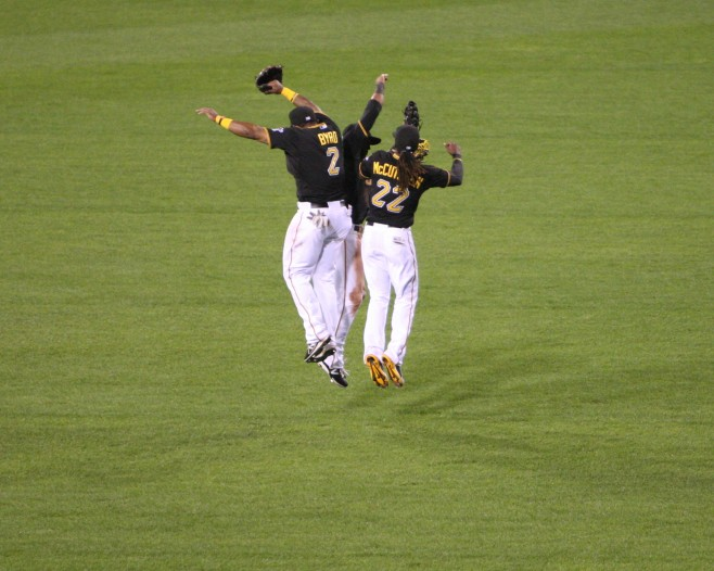 The Pirates could clinch the playoffs on Sunday. (Photo Credit: David Hague)