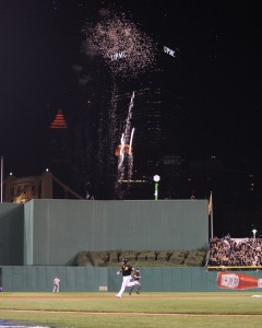 Marlon Byrd homered in the second to put the Pirates on the board. (Photo Credit: David Hague)