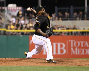 Francisco Liriano could give the Pirates a 2-1 series lead on Sunday. (Photo Credit: David Hague)