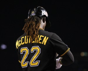 Andrew McCutchen was named the NL MVP this week. (Photo Credit: David Hague)