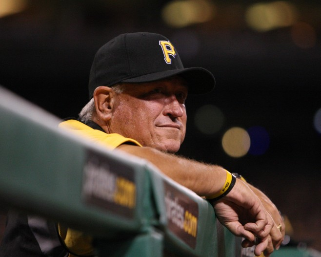Clint Hurdle didn't completely go by the book this year. (Photo Credit: David Hague)