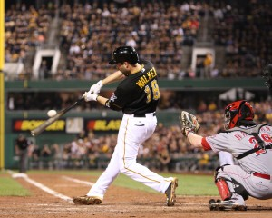 If Neil Walker can continue hitting for the power he showed in 2013, he could end up a top five offensive second baseman. (Photo Credit: David Hague)