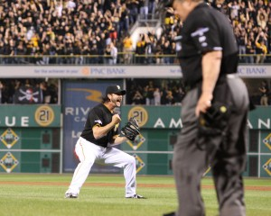 The Pirates are going to the NLDS. (Photo Credit: David Hague)
