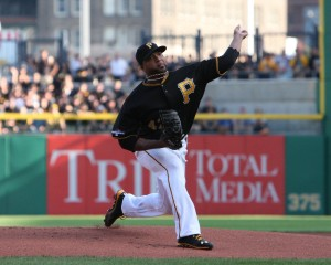 Francisco Liriano didn't have his best stuff tonight, but still managed a good stat line. (Photo Credit: David Hague)